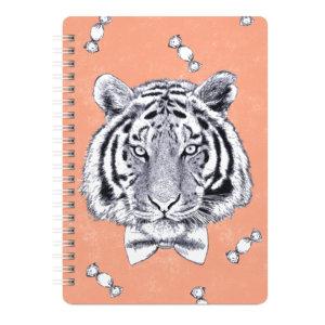 Скетчбук средний «Тигр» 50 листов