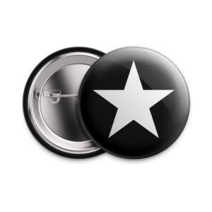 Значок «Звезда» 25 мм