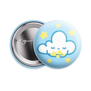 Значок «Облако» 25 мм