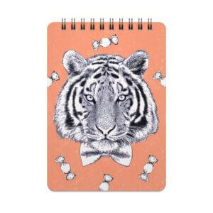 Скетчбук малый «Тигр» 25 листов