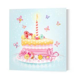 Мини-открытка «Торт» Ф-10