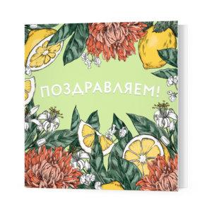 Мини-открытки, 10 шт, «Поздравляем!» Ф-10