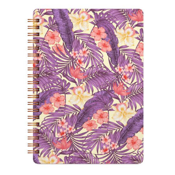 Ежедневник недатированный «Тропический зной» 50 листов