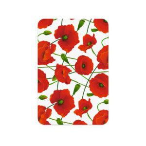 Букетные карточки, набор 10 шт, «Маки» Ф-33